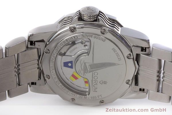 Used luxury watch Corum Admirals Cup steel automatic Kal. ETA 2892A2 Ref. 982.530.20  | 161446 09