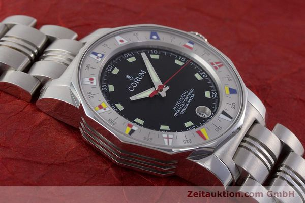 Used luxury watch Corum Admirals Cup steel automatic Kal. ETA 2892A2 Ref. 982.530.20  | 161446 14