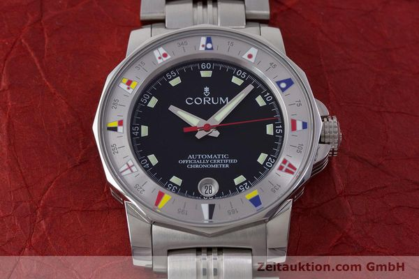 Used luxury watch Corum Admirals Cup steel automatic Kal. ETA 2892A2 Ref. 982.530.20  | 161446 15