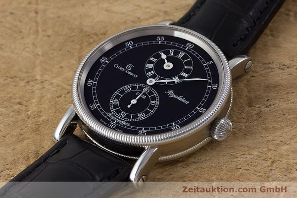 Used luxury watch Chronoswiss Regulateur steel automatic Kal. C122 Ref. CH1223  | 161453 01