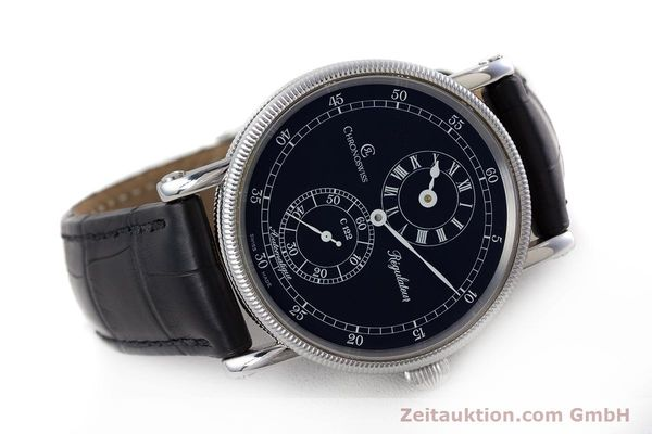 Used luxury watch Chronoswiss Regulateur steel automatic Kal. C122 Ref. CH1223  | 161453 03