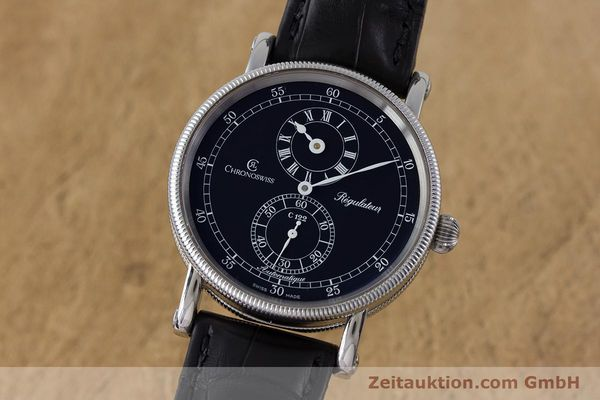 CHRONOSWISS REGULATEUR EDELSTAHL AUTOMATIK CH1223 GLASBODEN VP: 5200,- EURO [161453]
