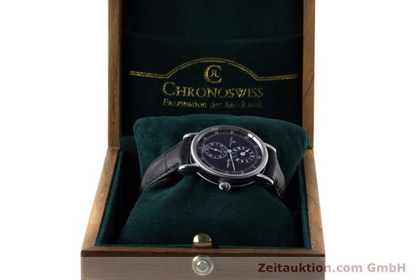 Used luxury watch Chronoswiss Regulateur steel automatic Kal. C122 Ref. CH1223  | 161453 07