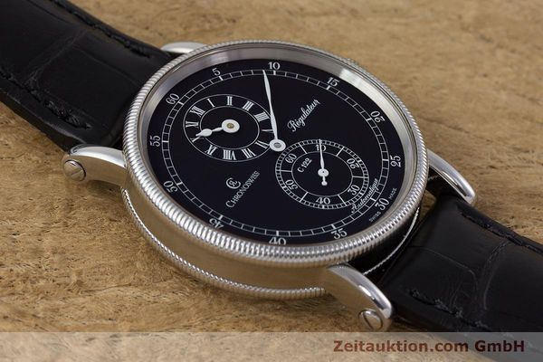 Used luxury watch Chronoswiss Regulateur steel automatic Kal. C122 Ref. CH1223  | 161453 16
