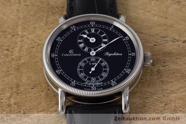 Used luxury watch Chronoswiss Regulateur steel automatic Kal. C122 Ref. CH1223  | 161453 17
