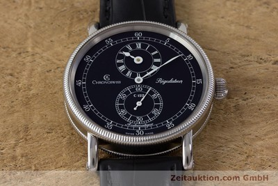 CHRONOSWISS REGULATEUR ACCIAIO AUTOMATISMO KAL. C122 LP: 5200EUR [161453]