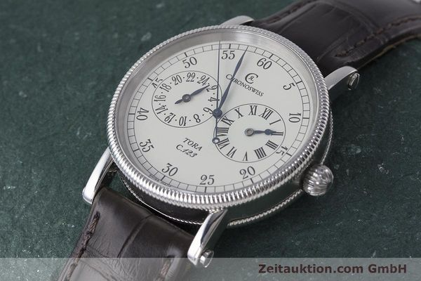Used luxury watch Chronoswiss Tora steel automatic Kal. 123 Ref. CH1323  | 161454 01