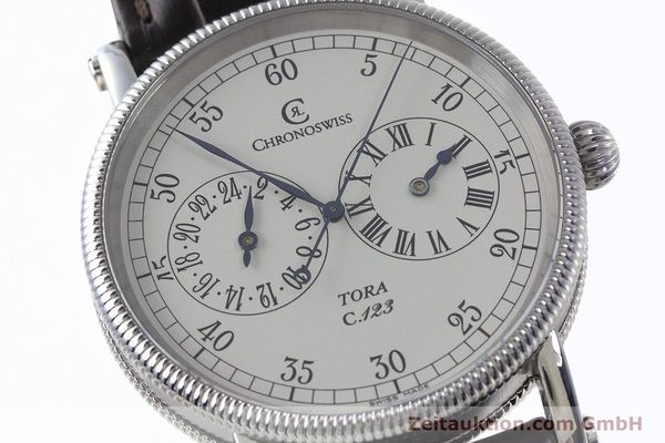 Used luxury watch Chronoswiss Tora steel automatic Kal. 123 Ref. CH1323  | 161454 02