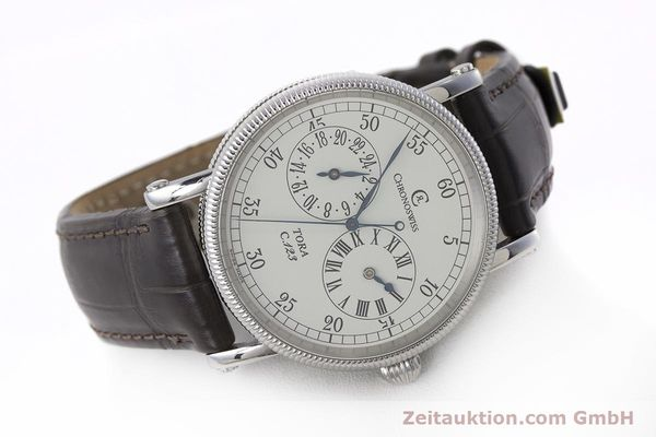 Used luxury watch Chronoswiss Tora steel automatic Kal. 123 Ref. CH1323  | 161454 03