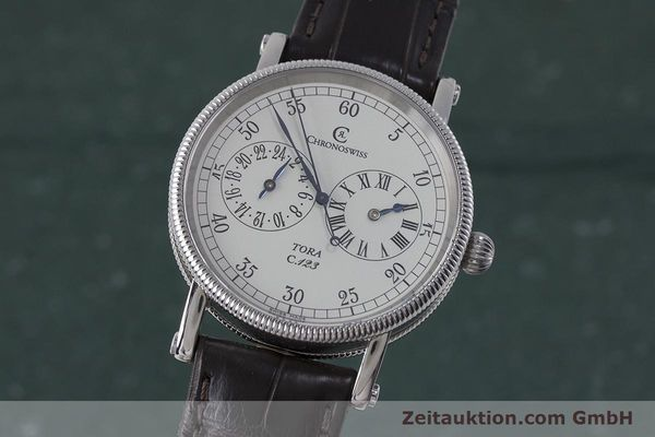 Used luxury watch Chronoswiss Tora steel automatic Kal. 123 Ref. CH1323  | 161454 04