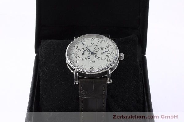Used luxury watch Chronoswiss Tora steel automatic Kal. 123 Ref. CH1323  | 161454 07