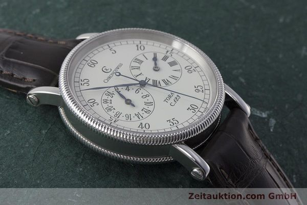 Used luxury watch Chronoswiss Tora steel automatic Kal. 123 Ref. CH1323  | 161454 13