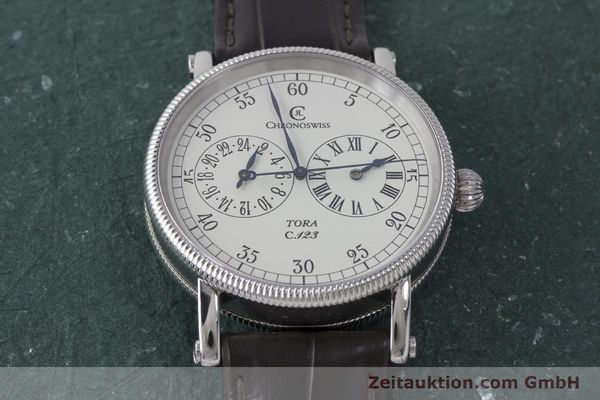 Used luxury watch Chronoswiss Tora steel automatic Kal. 123 Ref. CH1323  | 161454 14