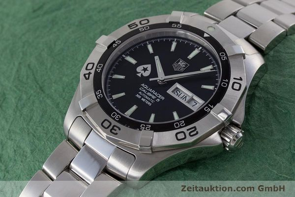 Used luxury watch Tag Heuer Aquaracer steel automatic Kal. 5 ETA 2836-2 Ref. WAF2013  | 161457 01