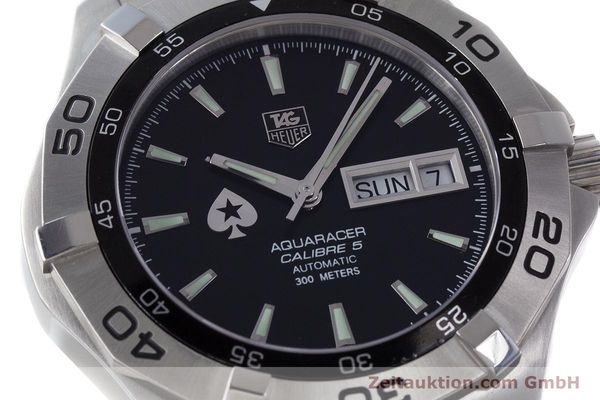 Used luxury watch Tag Heuer Aquaracer steel automatic Kal. 5 ETA 2836-2 Ref. WAF2013  | 161457 02