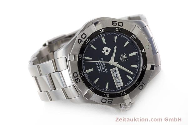 Used luxury watch Tag Heuer Aquaracer steel automatic Kal. 5 ETA 2836-2 Ref. WAF2013  | 161457 03