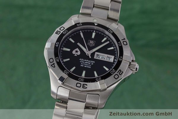 Used luxury watch Tag Heuer Aquaracer steel automatic Kal. 5 ETA 2836-2 Ref. WAF2013  | 161457 04