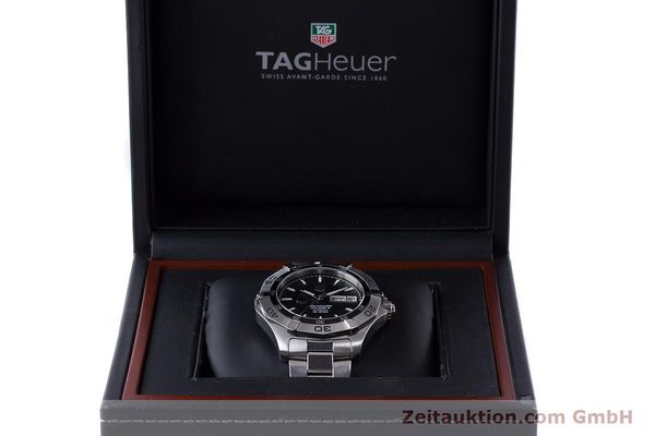 Used luxury watch Tag Heuer Aquaracer steel automatic Kal. 5 ETA 2836-2 Ref. WAF2013  | 161457 07