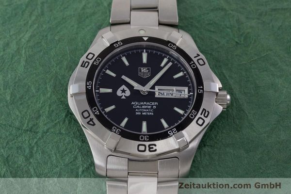 Used luxury watch Tag Heuer Aquaracer steel automatic Kal. 5 ETA 2836-2 Ref. WAF2013  | 161457 16