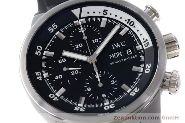 Used luxury watch IWC Aquatimer chronograph steel automatic Kal. 79320 Ref. 3719  | 161458 02
