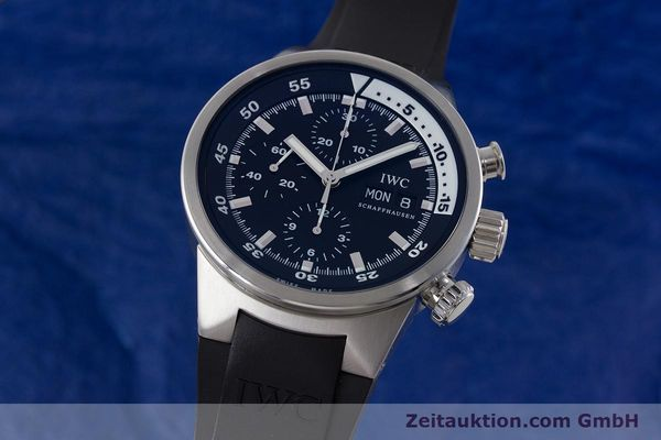 Used luxury watch IWC Aquatimer chronograph steel automatic Kal. 79320 Ref. 3719  | 161458 04