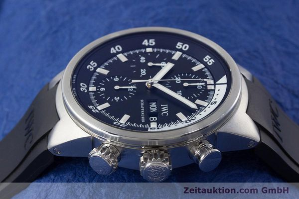 Used luxury watch IWC Aquatimer chronograph steel automatic Kal. 79320 Ref. 3719  | 161458 05