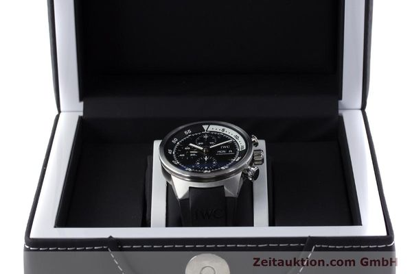 Used luxury watch IWC Aquatimer chronograph steel automatic Kal. 79320 Ref. 3719  | 161458 07