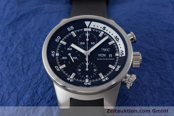 Used luxury watch IWC Aquatimer chronograph steel automatic Kal. 79320 Ref. 3719  | 161458 16