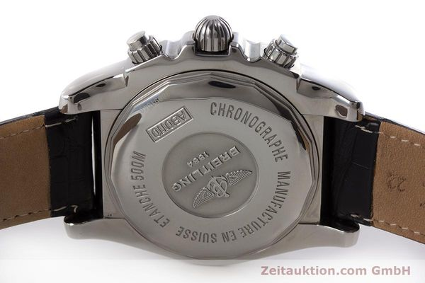 Used luxury watch Breitling Chronomat 44 chronograph steel automatic Kal. B 01 Ref. AB0110  | 161462 08
