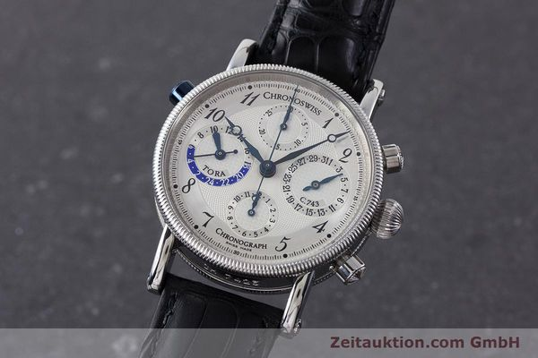 CHRONOSWISS TORA CHRONOGRAPHE ACIER AUTOMATIQUE KAL. C.743 LP: 6800EUR  [161468]