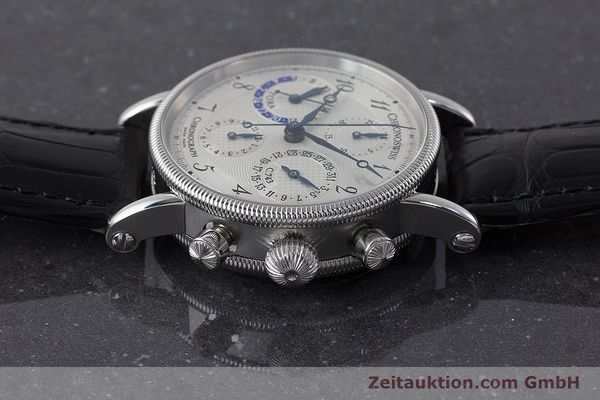 Used luxury watch Chronoswiss Tora chronograph steel automatic Kal. C.743 Ref. CH7423  | 161468 05