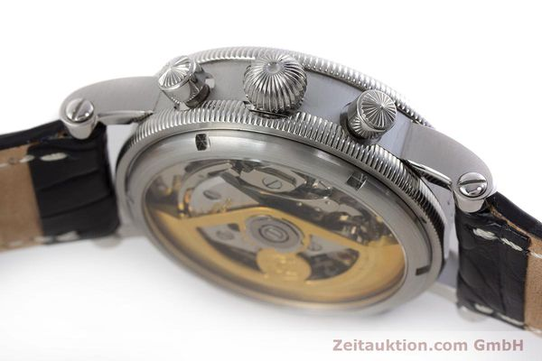Used luxury watch Chronoswiss Tora chronograph steel automatic Kal. C.743 Ref. CH7423  | 161468 08