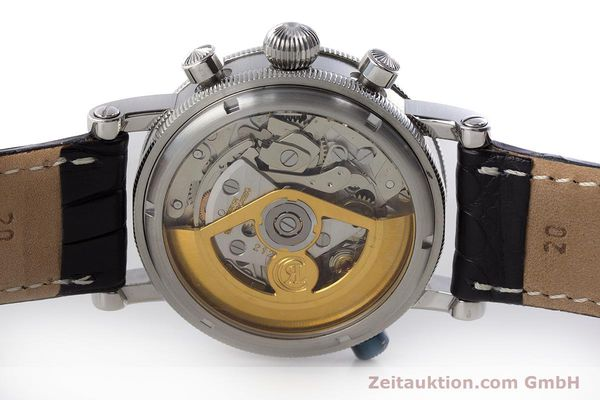 Used luxury watch Chronoswiss Tora chronograph steel automatic Kal. C.743 Ref. CH7423  | 161468 09