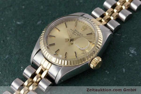 Used luxury watch Rolex Lady Date steel / gold automatic Kal. 2030 Ref. 6917  | 161470 01