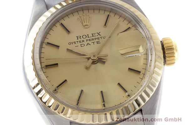 Used luxury watch Rolex Lady Date steel / gold automatic Kal. 2030 Ref. 6917  | 161470 02