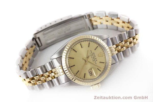 Used luxury watch Rolex Lady Date steel / gold automatic Kal. 2030 Ref. 6917  | 161470 03
