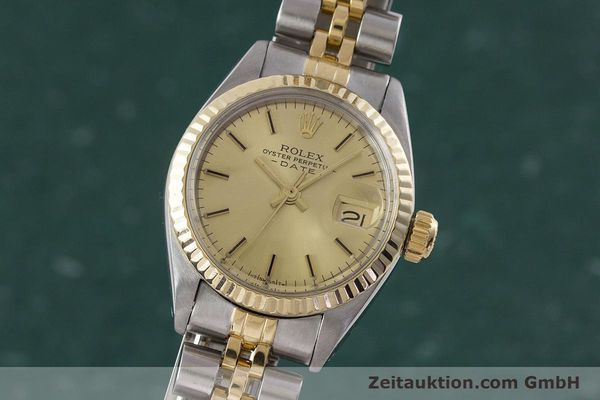 ROLEX LADY DATE STEEL / GOLD AUTOMATIC KAL. 2030 LP: 6950EUR [161470]