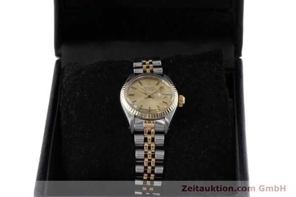 Used luxury watch Rolex Lady Date steel / gold automatic Kal. 2030 Ref. 6917  | 161470 07