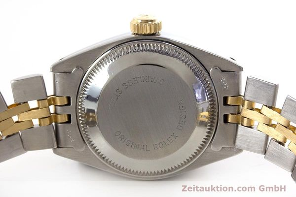 Used luxury watch Rolex Lady Date steel / gold automatic Kal. 2030 Ref. 6917  | 161470 08