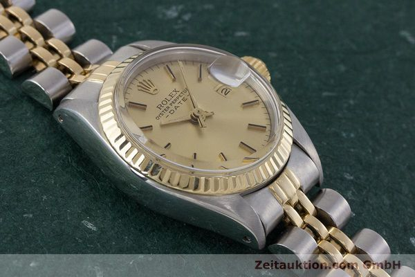 Used luxury watch Rolex Lady Date steel / gold automatic Kal. 2030 Ref. 6917  | 161470 14