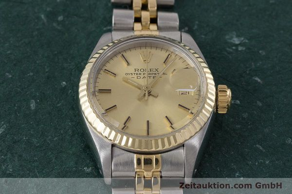 Used luxury watch Rolex Lady Date steel / gold automatic Kal. 2030 Ref. 6917  | 161470 15