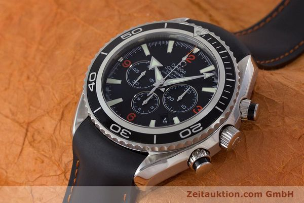 Used luxury watch Omega Seamaster chronograph steel automatic Kal. 3313 Ref. 29105182  | 161471 01