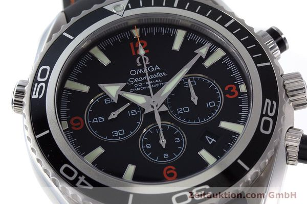 Used luxury watch Omega Seamaster chronograph steel automatic Kal. 3313 Ref. 29105182  | 161471 02