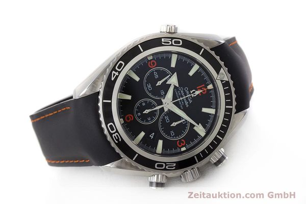 Used luxury watch Omega Seamaster chronograph steel automatic Kal. 3313 Ref. 29105182  | 161471 03