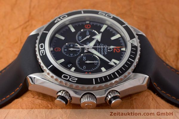 Used luxury watch Omega Seamaster chronograph steel automatic Kal. 3313 Ref. 29105182  | 161471 05