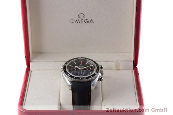 Used luxury watch Omega Seamaster chronograph steel automatic Kal. 3313 Ref. 29105182  | 161471 07