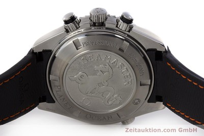 OMEGA SEAMASTER CHRONOGRAPH STEEL AUTOMATIC KAL. 3313 LP: 6400EUR [161471]