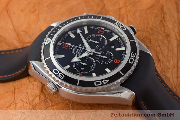 Used luxury watch Omega Seamaster chronograph steel automatic Kal. 3313 Ref. 29105182  | 161471 18