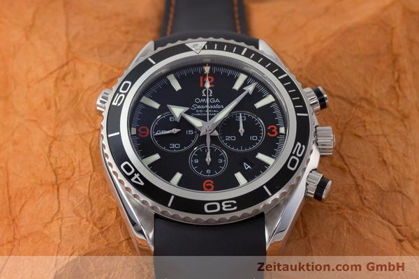 Used luxury watch Omega Seamaster chronograph steel automatic Kal. 3313 Ref. 29105182  | 161471 19