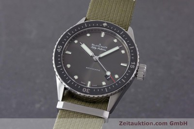 BLANCPAIN FIFTY FATHOMS ACIER AUTOMATIQUE KAL. 1315 LP: 9870EUR [161472]